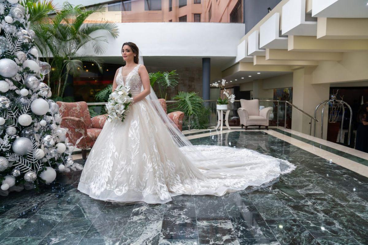 Vestido de novia en santiago de los caballeros República Dominicana